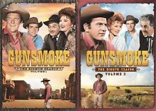Gunsmoke Complete Eighth Season 8 Eight  Volume 1 & 2 DVD Set Series TV Show Box