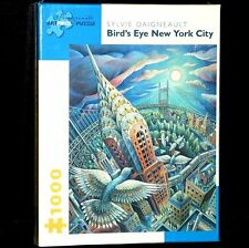 Puzzle 1000 Bird's Eye New York City Sylvie Daigneault Scene
