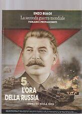 enzo biagi -la seconda guerra mondiale - fascicolo 5 - l ora della russia -