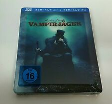 ABRAHAM LINCOLN VAMPIRE HUNTER [2D + 3D] Blu-ray STEELBOOK [GERMAN] LENTICULAR