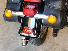 Hidden Harley Softail Hitch with Removable Tow Bar and Ball