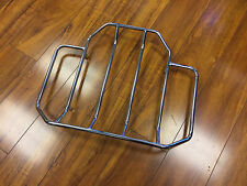 USED Chrome Top Luggage Rails Rack for Harley Davidson Tour Pack Tour Pak