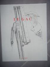 Gard Alès: Nouvelle figuration: Jean Le Gac, Expo Galerie Templon, 1990, BE