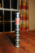 The Works of WIlliam Hogarth - Leather Binding Steel Engravings Fine