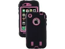 Otterbox Defender Series Case for iPhone 3G/3GS (Black/Pink) [Retail Packaging]