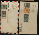 Haiti 2 covers to stamp dealers Herzog and Stamp Studio SSS0827