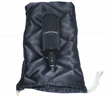 UNIVERSAL MICROPHONE DUST COVER & MIC PROTECTOR -Doublesided Quilted Black Nylon