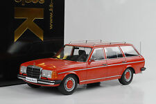 1978 Mercedes-Benz 250T W123 Kombi Estate red rot 1:18 KK diecast
