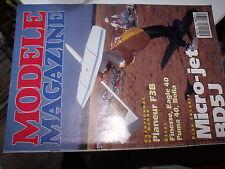 µµ Modele Magazine n°482 Plan encarté Micro Jet BD 5J / Finesse