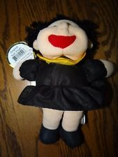 "Emily Toys Lovables fuzzy graduation doll cloth stuffed plush doll 8"" size s NWT"