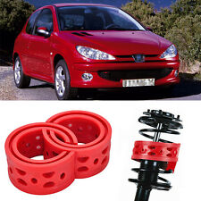 2pcs Size B Front Shock Suspension Cushion Buffer Spring Bumper For Peugeot 206