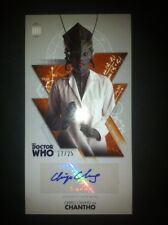 TOPPS Dr Who Tenth Doctor Adventures Autograph Auto Card #17/25 Chipo Chung BBC