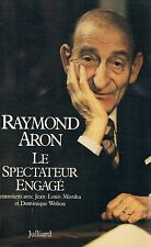 RAYMOND ARON LE SPECTATEUR ENGAGE + PARIS POSTER GUIDE
