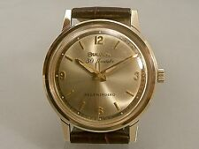BULOVA VINTAGE GENTS 30J AUTOMATIC  CIRCA 1966 VERY CLEAN