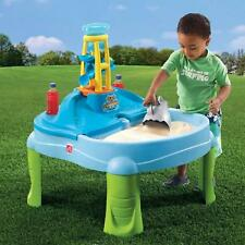 Sand And Water Table Splash N Scoop Bay Cover Play Activity Outdoor Kids Toddler
