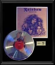 RAINBOW DIO LONG LIVE ROCK N ROLL RARE GOLD RECORD PLATINUM  DISC LP