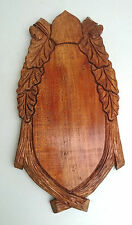 Wooden wall plaque, carving, Wall hanging home decoration ,handmade