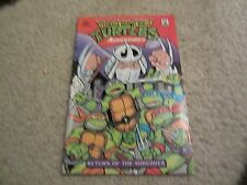 TEENAGE MUTANT NINJA TURTLES ADVENTURES: RETURN OF THE SHREDDER RARE!!