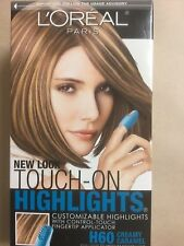 L'Oreal Touch-On Highlights #H60 Creamy Caramel Light To Medium Brown Hair NEW.