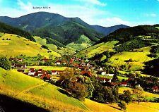 Münstertal mit Blick zum Belchen , Ansichtskarte, 1978 gelaufen