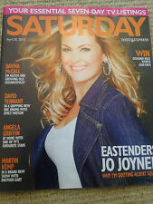 NEW Saturday Mag JO JOYNER MARTIN KEMP Peter Baldwin David Tennant Emily Watson