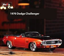 Maisto 1:24 Dodge Challenger 1970 Fast and Furious Character Diecast Car Model