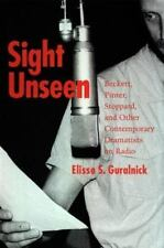 Sight Unseen: Beckett, Pinter, Stoppard, and Other Contemporary Dramat-ExLibrary