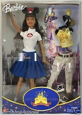 Rare African American AA Barbie Then Now 50 Years Disney Theme Parks NRFB