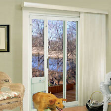 Power Pet Large Automatic Sldng Glass Pet Door- HIGH TECH FACTORY DIRECT PX-2SGR