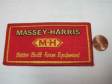 FARM TRACTOR PATCH MASSEY-HARRIS TRACTOR LOOK AND BUY NOW*