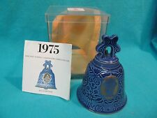 BING & GRONDAHL 1975 NEW YEAR BELL MINT IN BOX