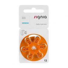 60 x siemens baterías audífonos 1,45v 300mah 13 p13mf pr48