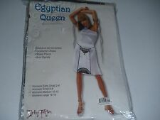 Cleopatra Egyptian Queen Sexy Adult Womens Halloween Costume Size 10-12