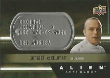 "Alien Anthology - DT-GE Brad Dourif ""Gediman"" Space Marine Dog Tag Card"