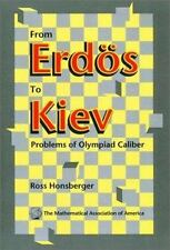 From Erdös to Kiev: Problems of Olympiad Caliber (Dolciani-ExLibrary