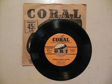 ALAN DALE Laugh! Clown! Laugh! / Toddling The Todalo CORAL RECORDS 45