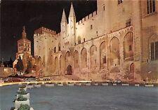 BR21995 Avignon palais des papes la nuit   france