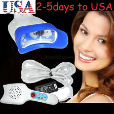 Dental LED Cool blue Light portable Teeth Whitening System Lamp Bleaching