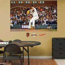 "Matt Cain FATHEAD Perfect Game MURAL REAL BIG 6'0"" x 4'0"" Giants 6/13/12 +EXTRAS"