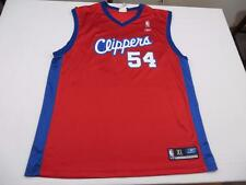 Used Reebok Mens Chris Wilcox Los Angeles Clippers NBA Basketball Jersey Sz XL