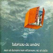 Non Al Denaro, Non All'amore, Ne Al Cielo - Fabrizio De Andre' CD RICORDI VIDEO