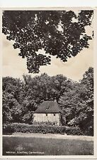 BF17250 weimar goethes gartenhaus  germany front/back image