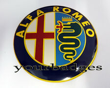 NEW Aluminium Alfa Romeo Car Badge 74mm