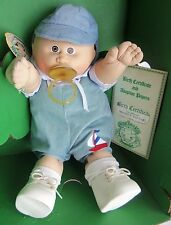 COLECO Cabbage Patch Kid PREEMIE PACI Boy MAURICE RAPHAEL, MIB, Tuft of Hair
