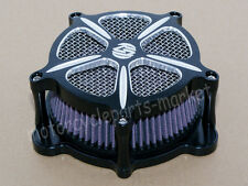 5 Speed Edge Cut Air Cleaner Intake Filter For Harley Touring Models 2008-2016