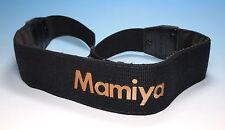 Mamiya Trageriemen - Schwarz / Gold ~100cm Länge für Mamiya RZ - (81269)