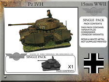 Forged in Battle FOW WW2 15mm German Panzer Pz IVH-G