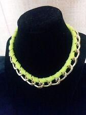 US.Fashion Women Jewelry Chain Choker Statement Bib Necklace Charm Weave Pendant
