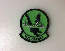 AUTHENTIC USMC V-22 OSPREY PATCH, WITH VELCRO BACK, NEW