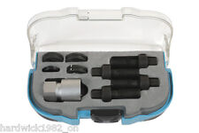 DAMAGED WHEEL STUD MASTER THREAD TOOL KIT RE THREADER VW AUDI SKODA MERCEDES +